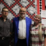 Jacob Hatfield, Bob James, and Andrea Hatfield