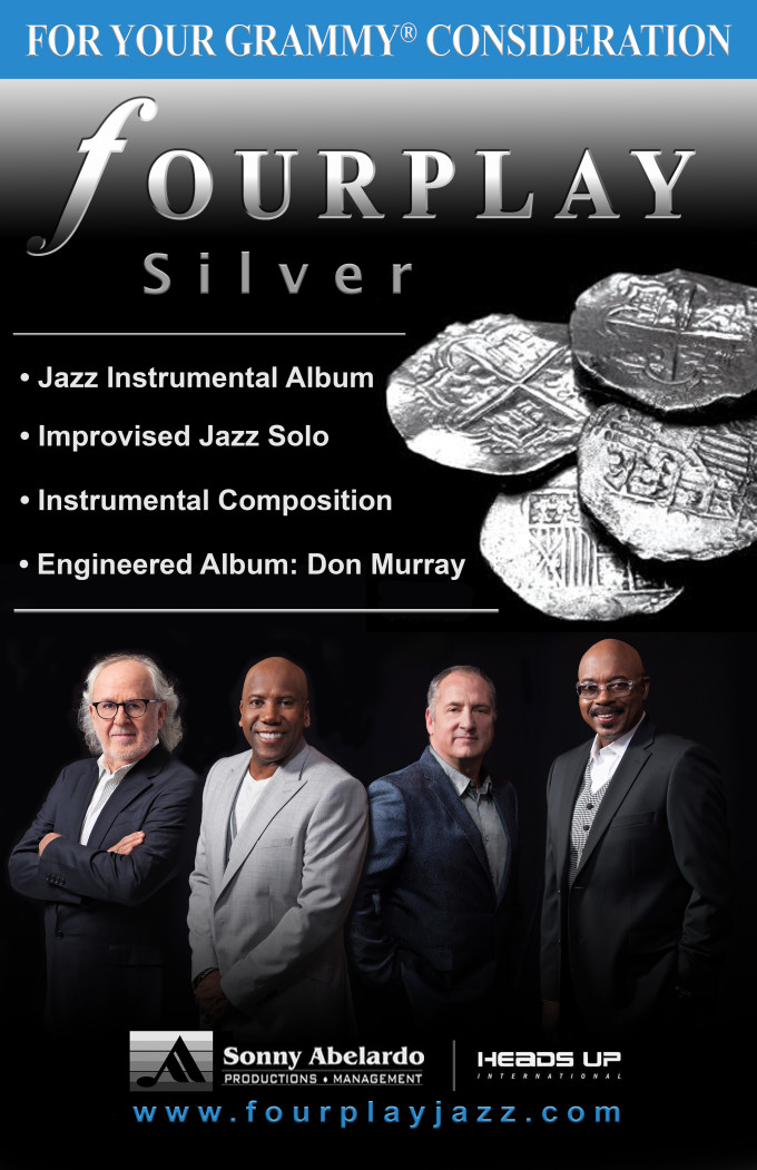 fOURPLAY SILVER Grammy Consideration